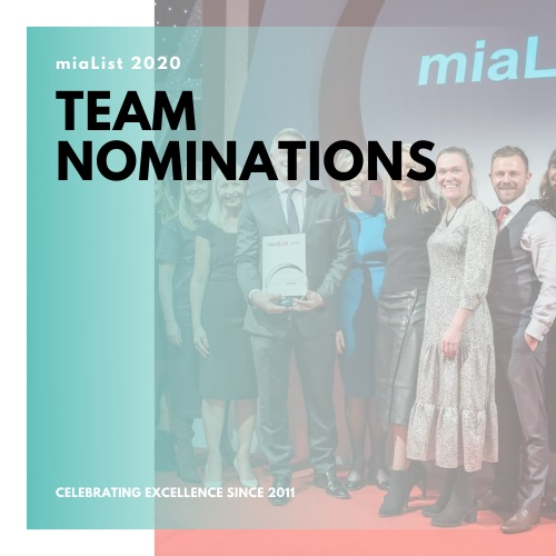 Team Nominations