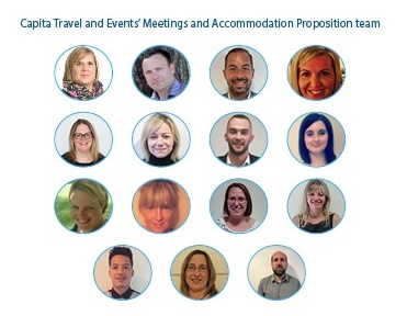 Capita Meetings and Accomodation Proposition Team